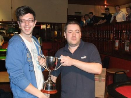 Adam Brown - Mens county championship winner