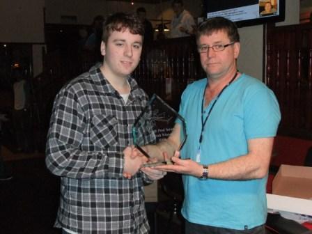 Rhys Freemire - 2009 Youth pool series Winner